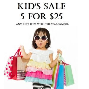 Other - 🌟🌟🌟 Kid's Sale! Look for the 🌟🌟🌟🌟